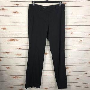 Theory Black Emery Dress Pants Wide Leg Trouser